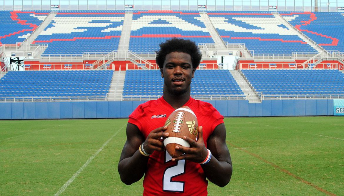FAU Football Media Day <div class='secondary-title'><span style='color:#818181;font-size:14px;'>Shots from FAU Football's media day.</div>