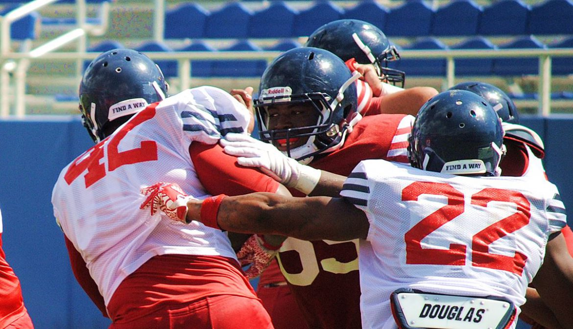 Fall Scrimmage Photo Gallery <div class='secondary-title'><span style='color:#818181;font-size:14px;'>Photos from FAU Football's final fall scrimmage.</div>