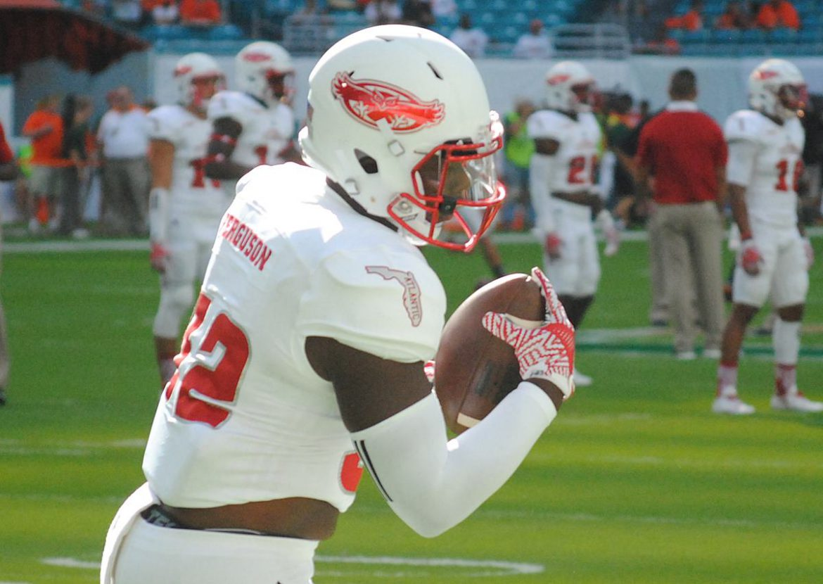FAU vs Miami Pregame <div class='secondary-title'><span style='color:#818181;font-size:14px;'>Photos from FAU's pregame stretch prior to taking on Miami.</div>