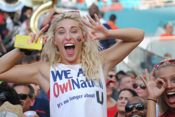 Photo Gallery: Miami 38, FAU 10 <div class='secondary-title'><span style='color:#818181;font-size:14px;'>Photos of FAU players and fans from FAU's 38-10 loss at Miami.</div>