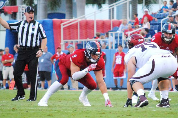 Photo Gallery: FAU 38, SIU 30 <div class='secondary-title'><span style='color:#818181;font-size:14px;'>Photos from before and during FAU's 38-30 season-opening victory over Southern Illinois.</div>