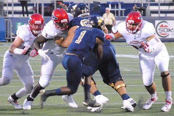FINAL: FIU 33, FAU 31<br> Photo Gallery <div class='secondary-title'><span style='color:#818181;font-size:14px;'>Photos from before, during and after FAU's loss to FIU in the Shula Bowl.</div>