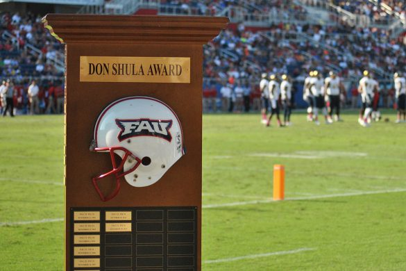 fau shula bowl trophy
