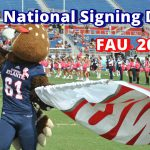 FAU National Signing Day 2017