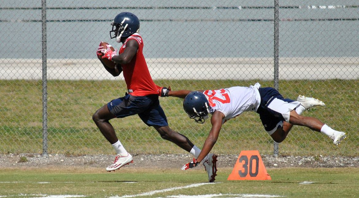 PHOTO GALLERY:<br> First Spring Practice <div class='secondary-title'><span style='color:#818181;font-size:14px;'>Here are some of the sights from Tuesday's FAU football practice, the Owls' first under Lane Kiffin.</div>