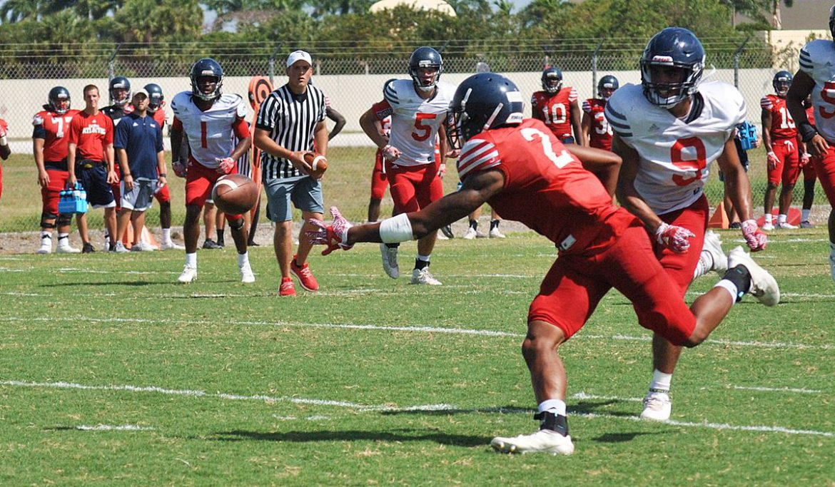 Photo Gallery: <br> Tuesday's Practice <div class='secondary-title'><span style='color:#818181;font-size:14px;'>Here's a photo gallery from Tuesday's practice along with a note about something the Owls worked on defensively with an eye toward the season.</div>