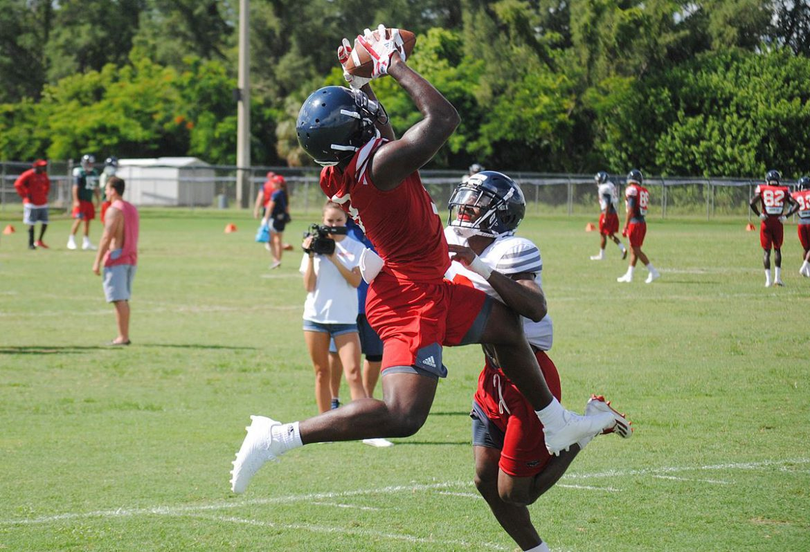 Pick Per Day <div class='secondary-title'><span style='color:#818181;font-size:14px;'>FAU CB Shelton Lewis hopes to notch an interception each day of camp. So far, he's doing exactly that.</div>
