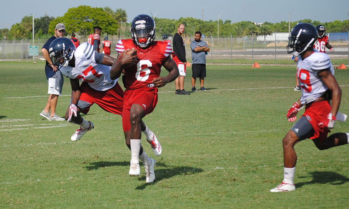 HARD KNOCKS at the OX: Cover Corners <div class='secondary-title'><span style='color:#818181;font-size:14px;'>FAU cornerbacks aren't giving as many big plays, taking some balls away in fall camp.</div>