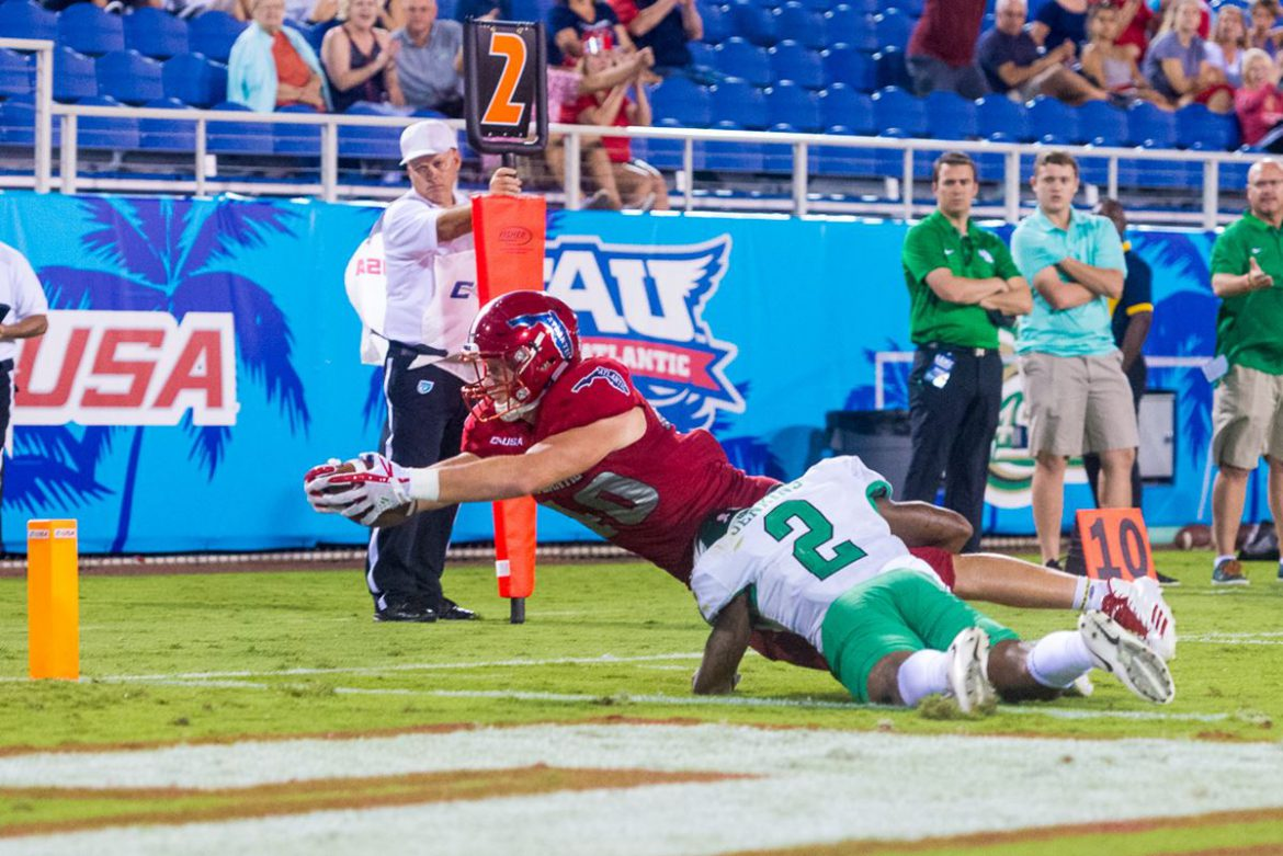 Air Necessities <div class='secondary-title'><span style='color:#818181;font-size:14px;'>In beakout FAU win quarterback Jason Driskel and the Owls find the potent passing game they've been seaching for.</div>