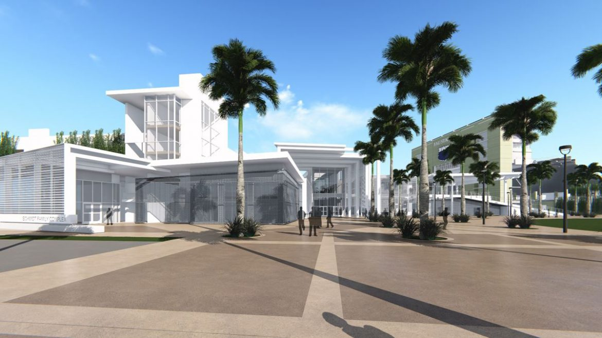 The Drawing Board <div class='secondary-title'><span style='color:#818181;font-size:14px;'>FAU displays latest architectural drawings of new Schmidt Athletic Complex</div>