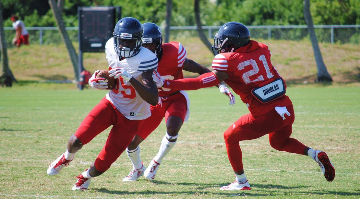 Air Traffic Control <div class='secondary-title'><span style='color:#818181;font-size:14px;'>In Chris Tooley and Shelton Lewis, FAU boasts two lockdown corners who free up the rest of the defense to pressure opposing quarterbacks.</div>