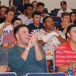 fau baseball player reaction