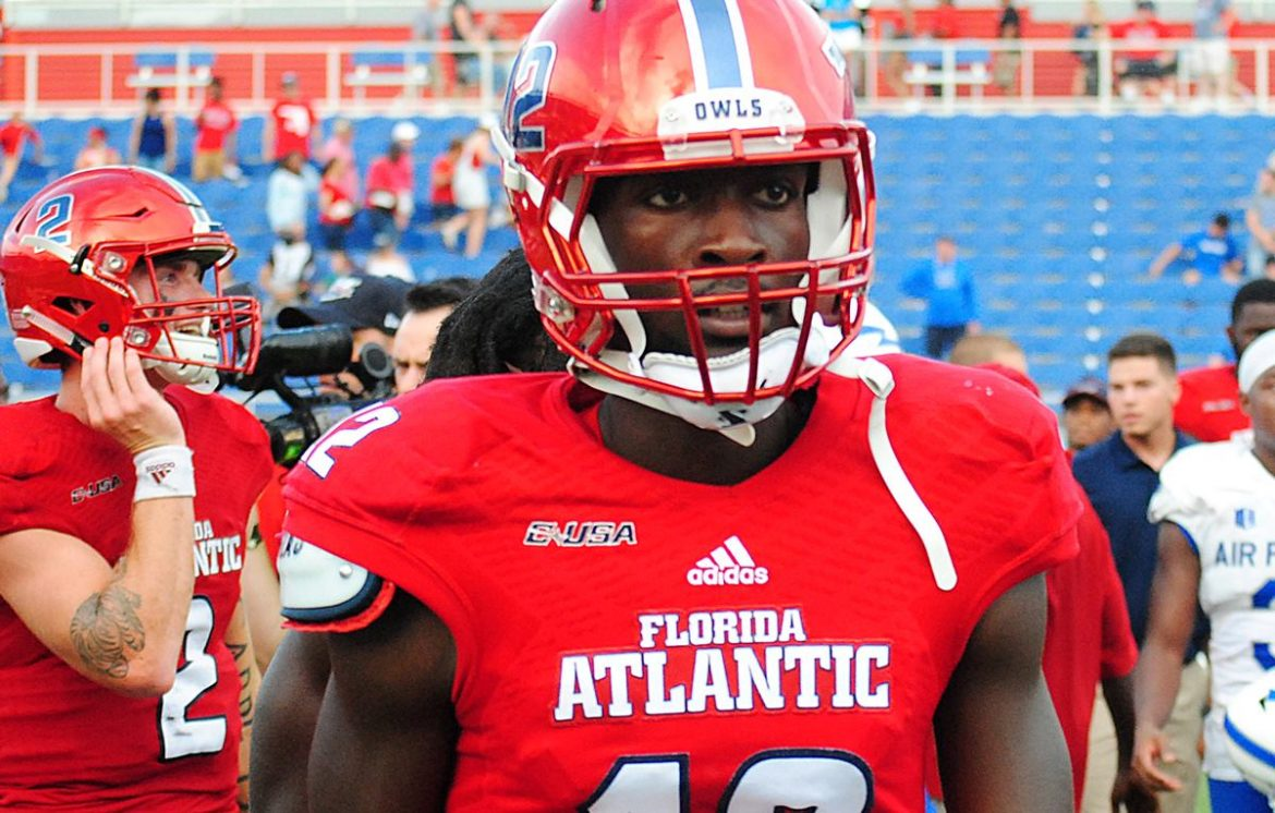Historic Home Debut <div class='secondary-title'><span style='color:#818181;font-size:14px;'>In his first game at Howard Schnellenberger Field, Chris Robison throws for a program-record 471 yards to lead FAU past Air Force.</div>