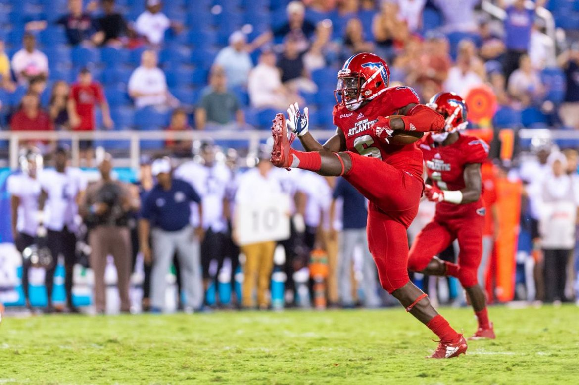 Four Down Territory:<br> FAU 52, ODU 33