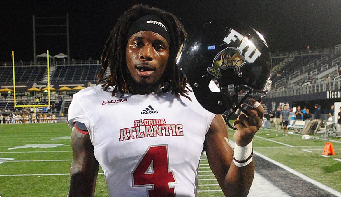 FOUR DOWN TERRITORY:<br> FAU 49, FIU 14 <div class='secondary-title'><span style='color:#818181;font-size:14px;'>Devin Singletary a Top 10 back, FAU's offensive line shuffle produces big yards, and yet another fourth down decision backfires. Four Down Territory analysis here.</div>