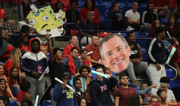 In and Out <div class='secondary-title'><span style='color:#818181;font-size:14px;'>Xavian Stapleton's driving bid to tie the game in the closing seconds rattles out, and FAU falls to rival FIU in a thriller.</div>