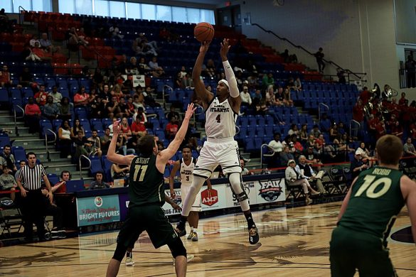 Cold Saturday <div class='secondary-title'><span style='color:#818181;font-size:14px;'>Poor shooting dooms FAU in loss to Charlotte, the Owls' first home defeat of the season.</div>