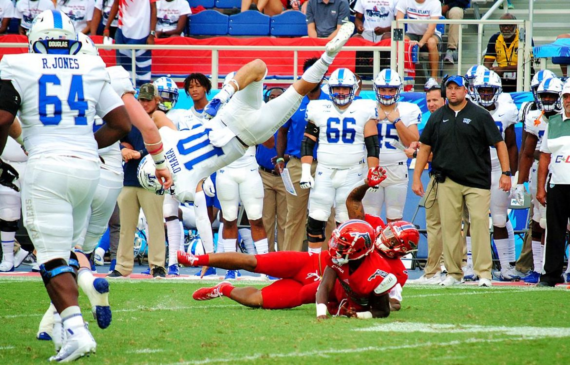 Four Play <div class='secondary-title'><span style='color:#818181;font-size:14px;'>FAU didn't play its best game of the season, but the Owls still had enough to extend their winning streak to four with a win over MTSU.</div>