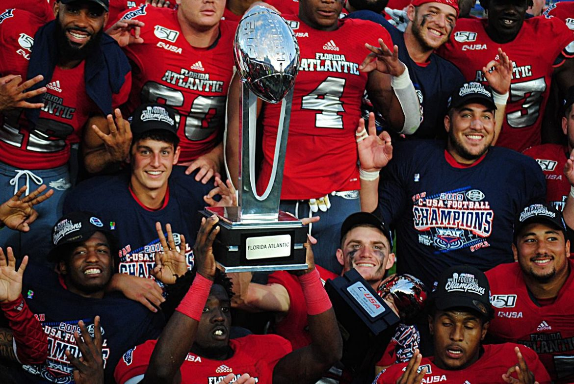 Boca Bound? <div class='secondary-title'><span style='color:#818181;font-size:14px;'>FAU is lobbying for a berth in the Boca Raton Bowl and ESPN may pit the Owls against a ranked opponent or even a Power 5 school.</div>