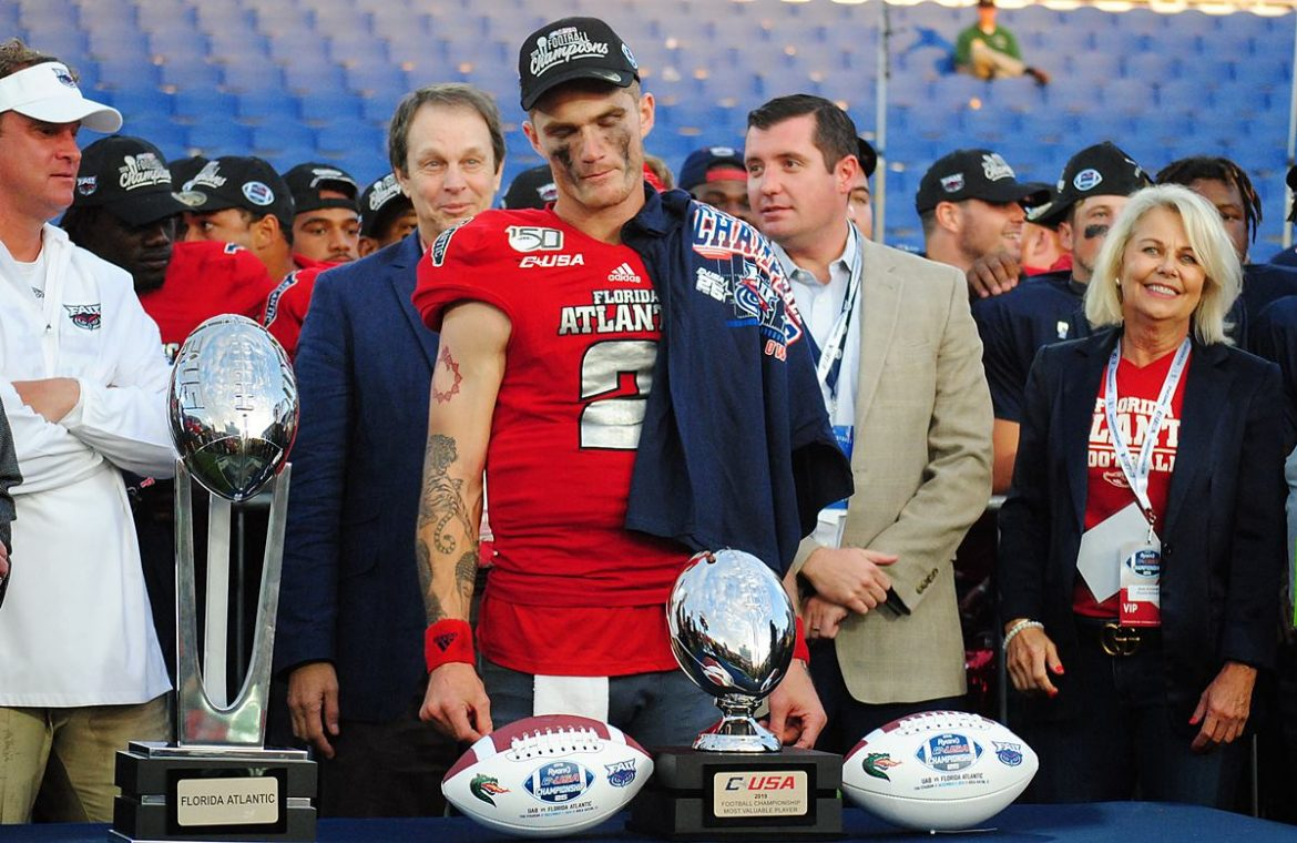 Championship Goodbye <div class='secondary-title'><span style='color:#818181;font-size:14px;'>FAU obliterates UAB to claim Conference USA title in Lane Kiffin's final game as Owls' head coach before departing for Mississippi.</div>