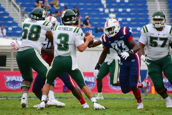 Four Down Territory: FAU 21 Charlotte 17 <div class='secondary-title'><span style='color:#818181;font-size:14px;'>Analysis: McCarthy's strong start, Tronti's second-half rebound and a look at what this victory means for FAU in our first Fourth Down Territory analysis of the season.</div>